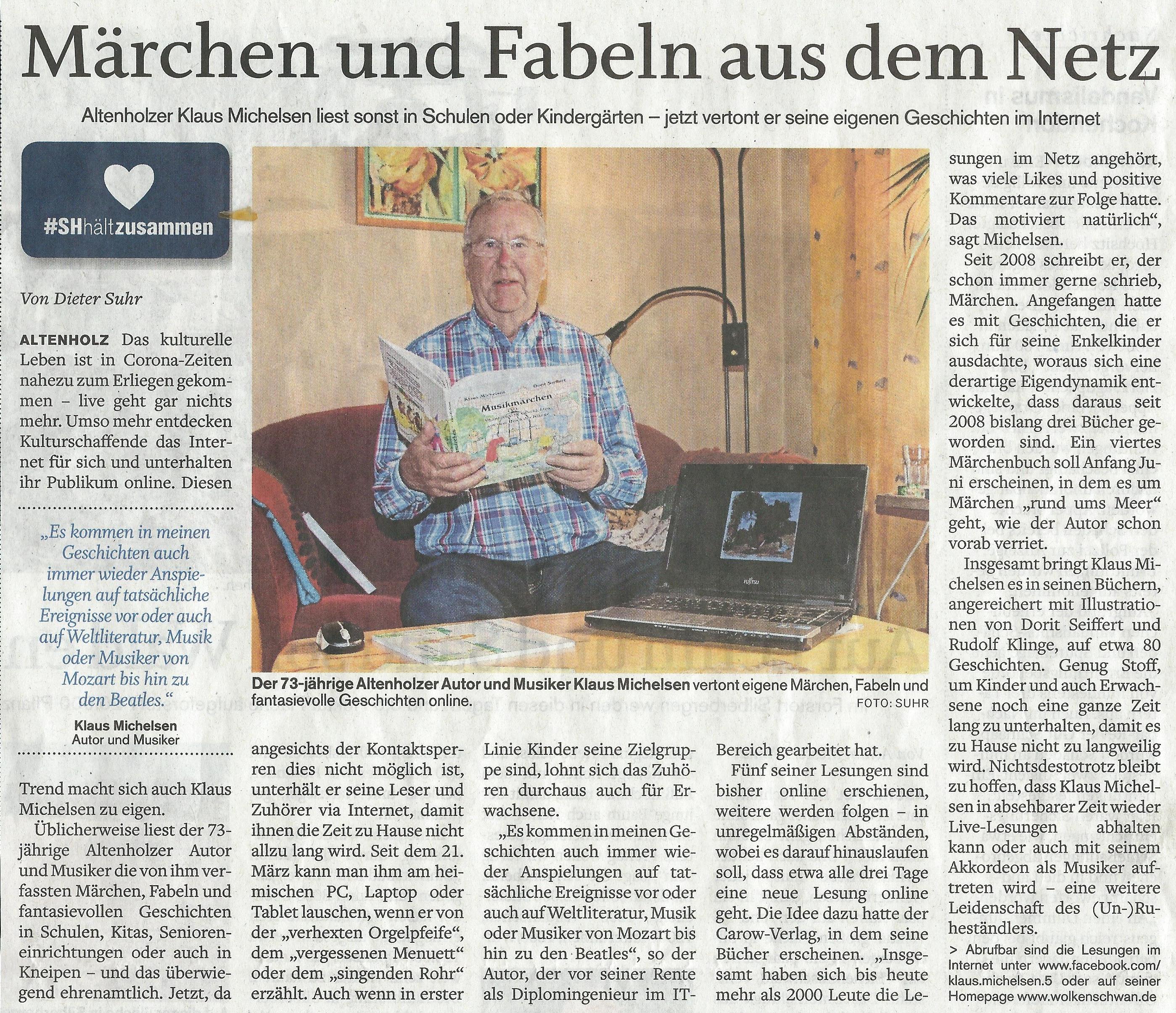 Eckernförder Zeitung Kontakt